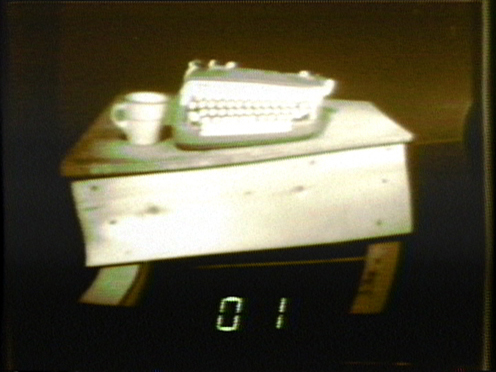 Peer Bode video still from Counting and Remapping 00-ff (partial disclosure) 1979