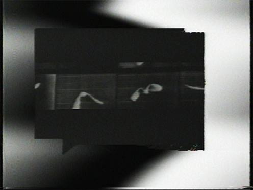 Peer Bode video still from Synthetic Series #2, songs of the synthete 1984